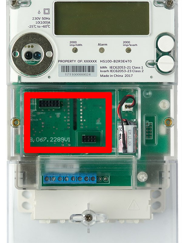 Power Meter with Com Port for SynapMesh